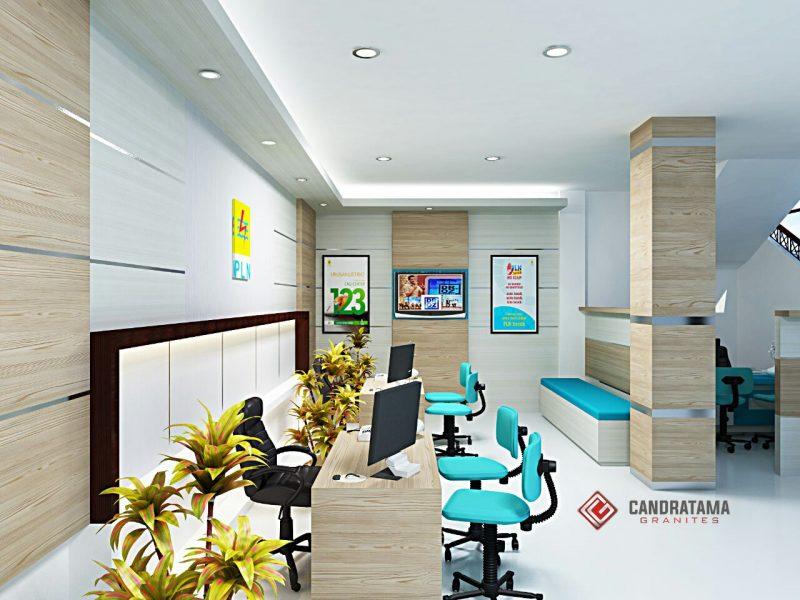 interior meja kantor