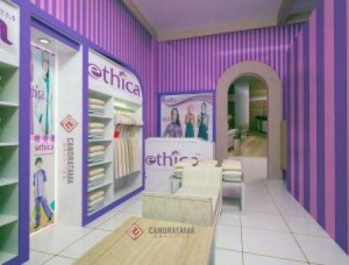 interior toko baju modern