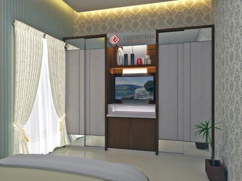 lemari baju minimalis modern