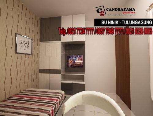 interior kabinet baju minimalis