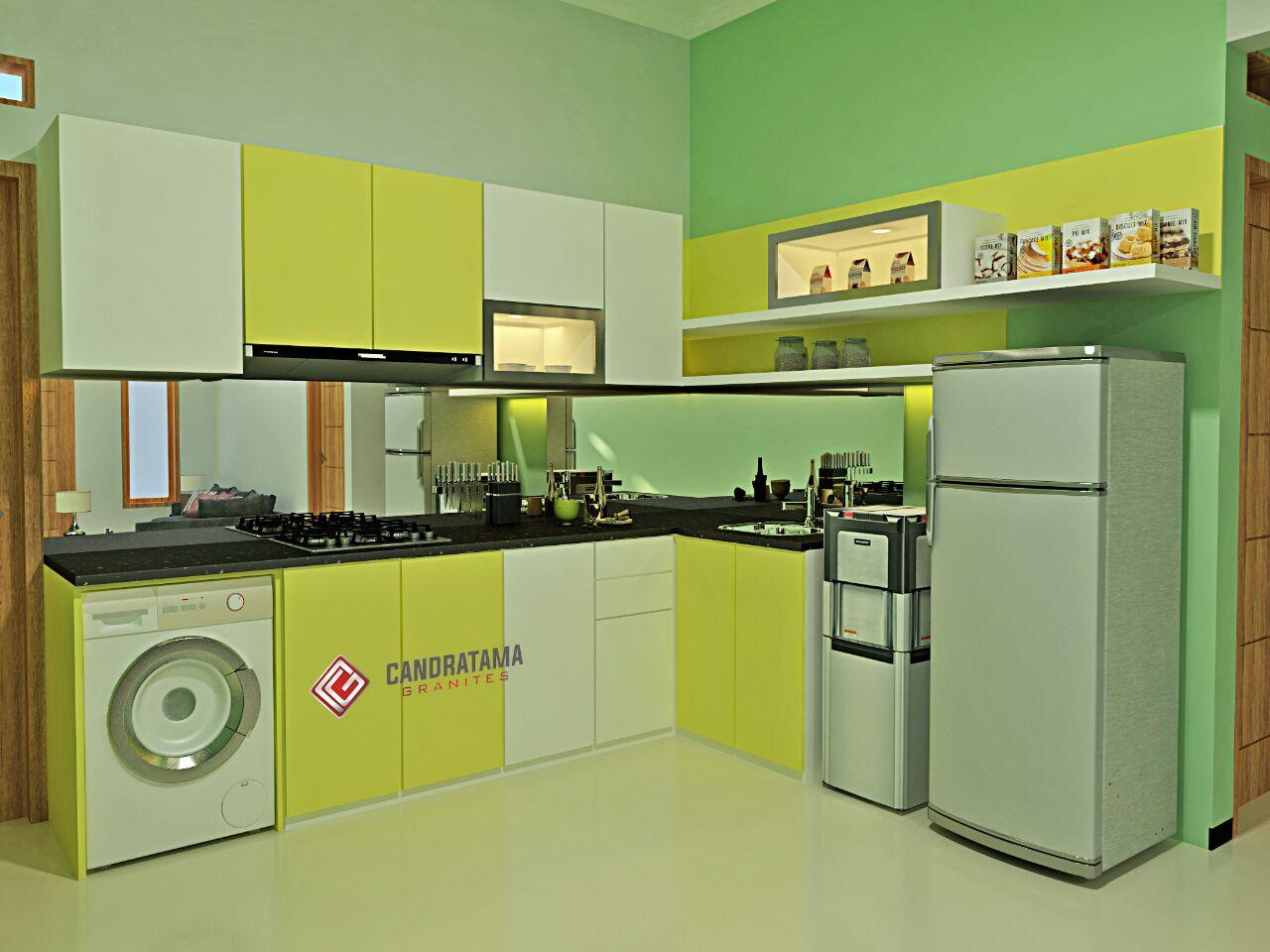 Desain interior madiun interior rumah kediri surabaya for Kitchen set surabaya