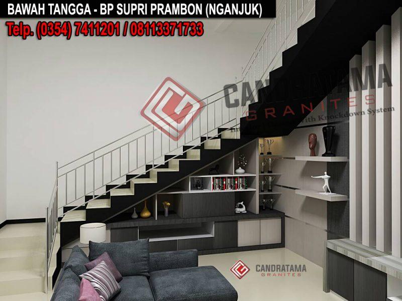 interior lemari bawah tangga