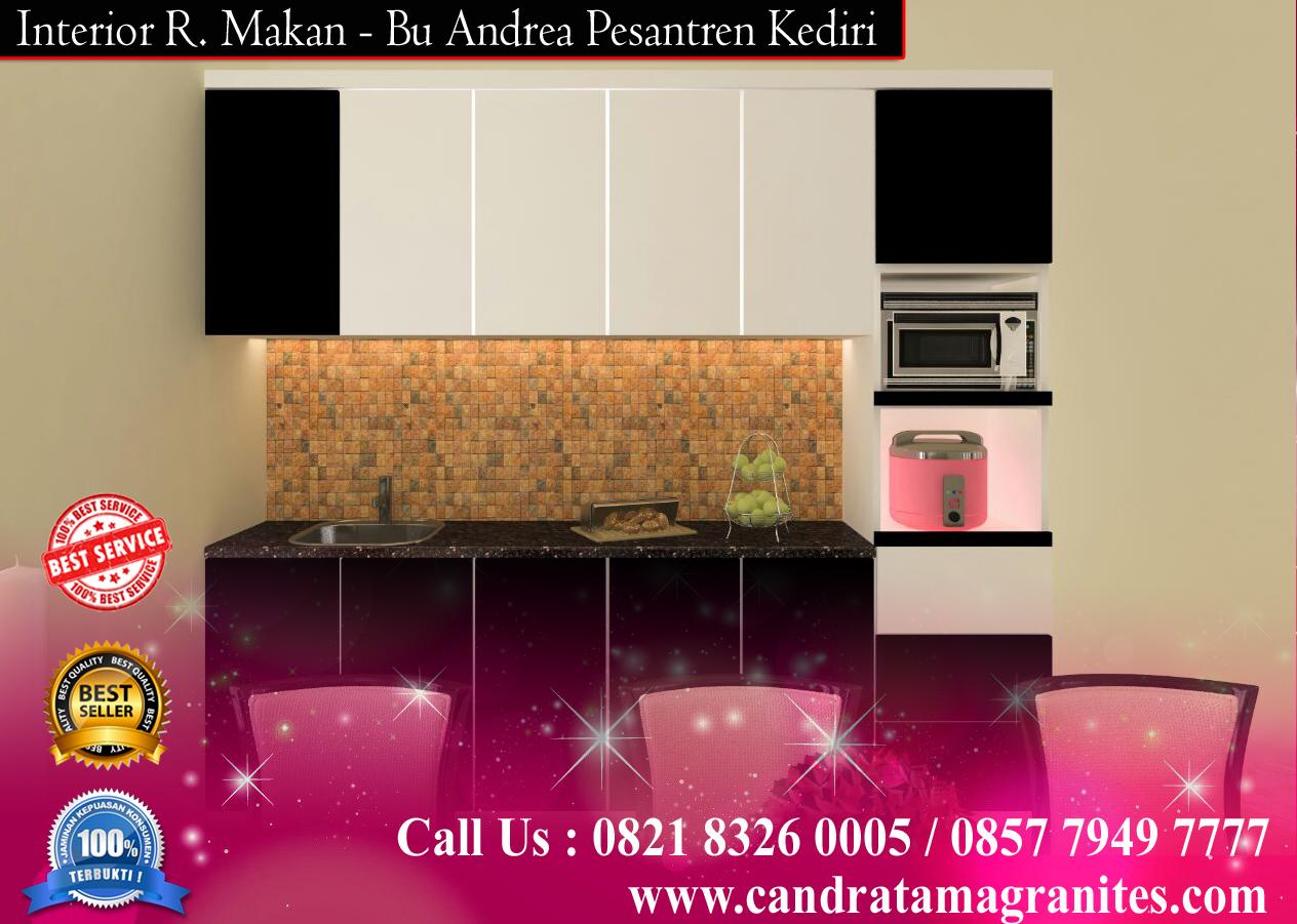 Info harga kitchen set kediri jasa buat interior dapur kediri for Harga buat kitchen set