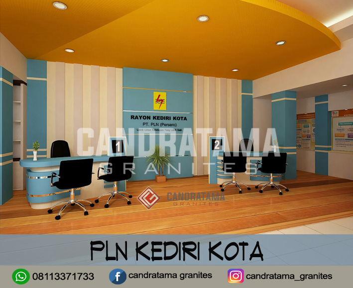 interior pln kediri-interior kantor kediri