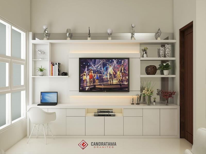 Inspirasi Rak TV Minimalis 2020 Di Daerah Nganjuk - sain