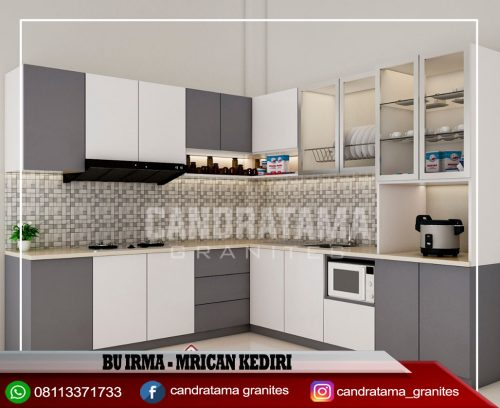 kitchen set minimalis gresik