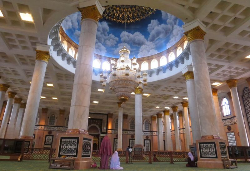 desain masjid minimalis