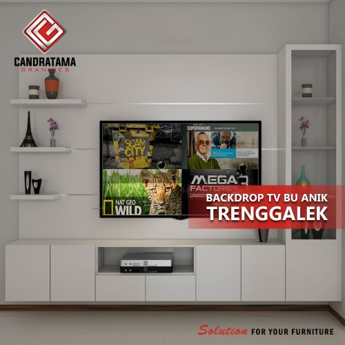 rak tv sederhana modern