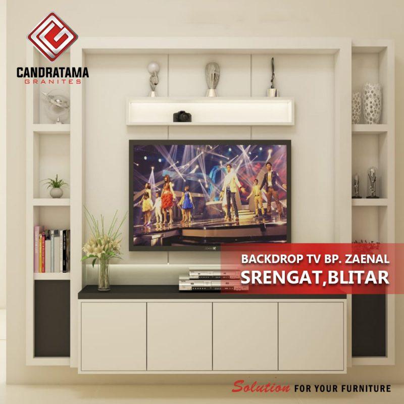 INTERIOR BACKDROP TV BAPAK ZAENAL SRENGAT, BLITAR 08113371733
