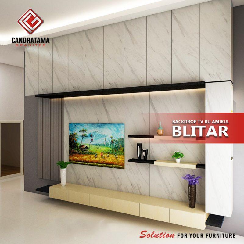 backdrop tv minimalis hpl