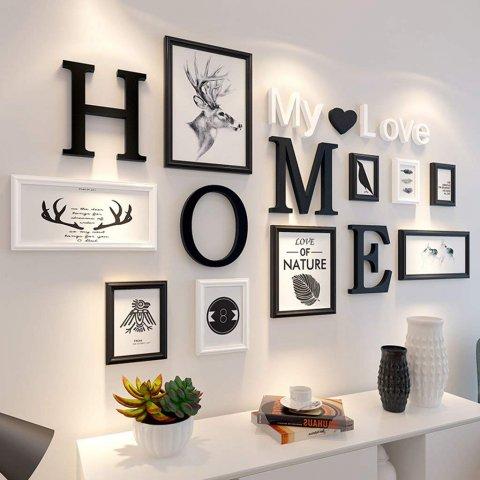 foto gantung membuat menarik dekorasi rumah anda