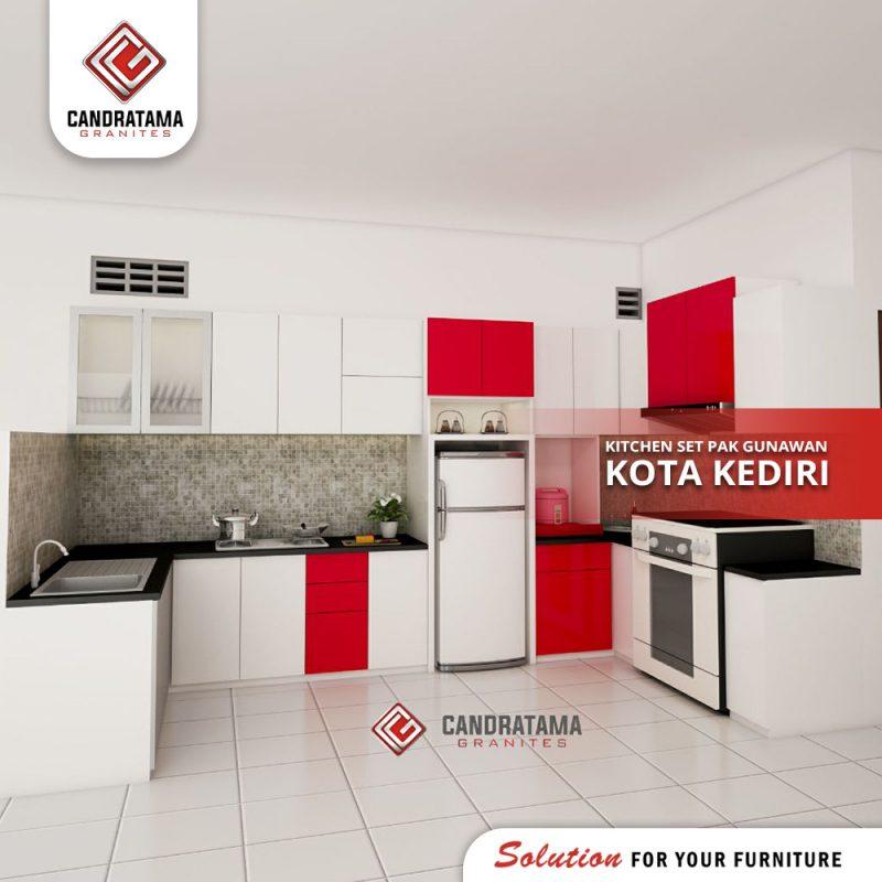 interior kitchen set kediri