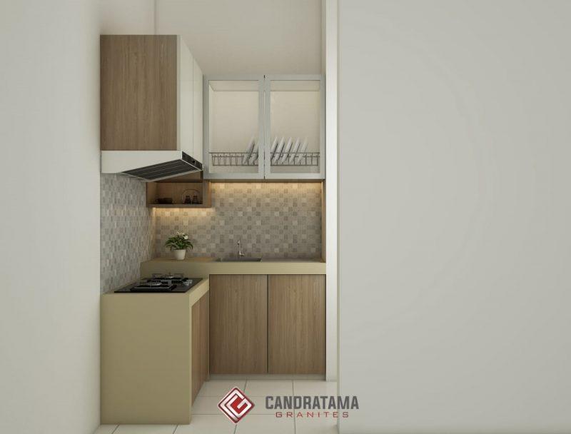 kitchen set rumah subsidi